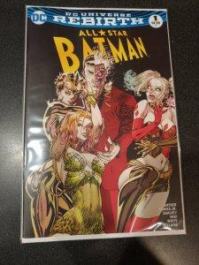 ALL STAR BATMAN #1 COMICXPOSURE GUILLEM MARCH EXCLUSIVE