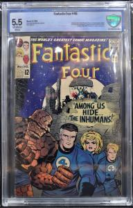 Fantastic Four #45 (Marvel, 1965) CBCS 5.5 - KEY!