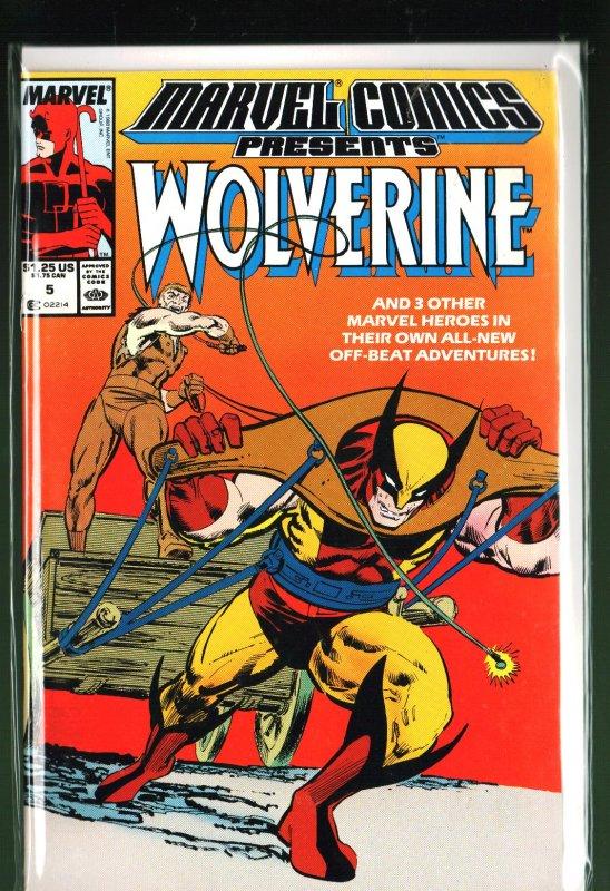 Marvel Comics Presents #5 (1988)