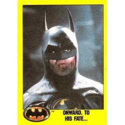 1989 Batman The Movie Series 2 Topps ONWARD, TO HIS FATE... #138