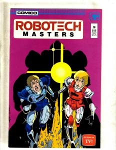 12 Comics Robotech 1 Masters 18 19 20 21 22 23 New Gen 18 20 21 Macross 27 J410