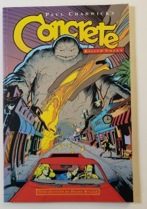 CONCRETE: KILLER SMILE TPB SOFT COVER DARK HORSE COMICS VF/VF+ FIRST PRINT