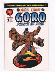 Mortal Combat Goro Prince Of Pain # 1 VG/FN Malibu Comic Book Video Game JH3