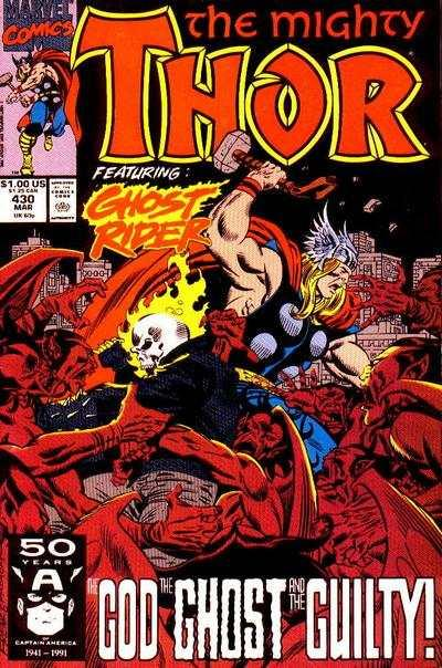 Thor (1966 series) #430, NM- (Stock photo)