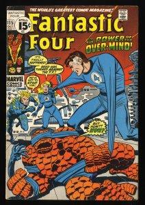 Fantastic Four #115 FN 6.0 Marvel Comics
