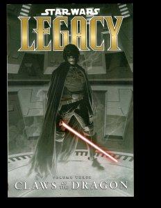 Star Wars Legacy Vol. # 3 CLAWS OF THE DRAGON Dark Horse Comic Book TPB J400