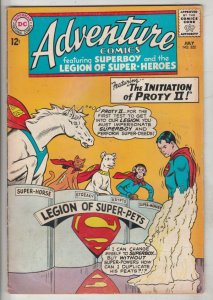 Adventure Comics #322 (Jul-64) FN/VF Mid-High-Grade Legion of Super-Heroes, S...