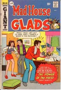 ARCHIES MADHOUSE (1959-1982)84 VF Aug. 1972 COMICS BOOK