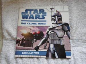 LUCUS BOOKS STAR WARS THE CLONE WARS BATTLE AT TETH