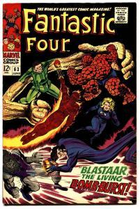 FANTASTIC FOUR #63 comic book -VF--HIGH GRADE--SANDMAN 1967