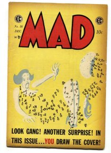 MAD #18 1954-EC-Wally Wood-Will Elder-Dots NOT connected!