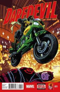 Daredevil (2014 series) #11, NM + (Stock photo)