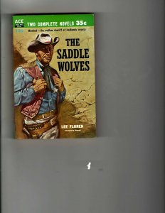 3 Books The Saddle Wolves Buckaroo The Incredible World Champs Mets Sports JK27