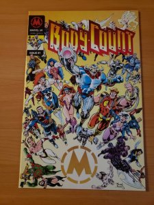 Body Count #1 ~ NEAR MINT NM ~ 1993 Marvel UK Comics