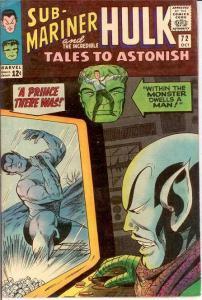 TALES TO ASTONISH 72 VG+  October 1965 COMICS BOOK