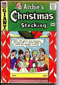 Archie's Giant Series #6 1959-Christmas caroling-Santa-Veronica-Betty-VG+