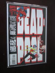 Deadpool The Circle Chase #2 - in Mylar sleeve sharp corners unread - VF  - 1993
