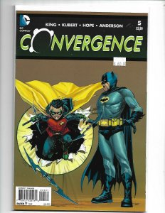 Convergence #5 Jerome Opena 1:25 Variant Cover NM (V15)
