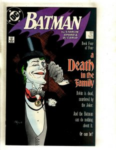 Batman # 429 NM DC Comic Book Death Of The Family Joker Robin Gotham Ivy HJ9