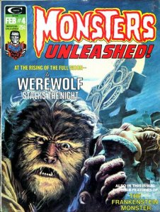 Monsters Unleashed #4 (ungraded) stock photo / ID#001D