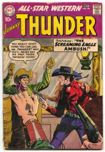 All Star Western Comics #109 1959- Johnny Thunder VG-
