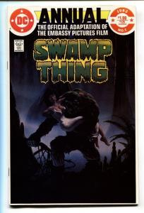 Swamp Thing Annual #1 1982-Film adaptation-comic book