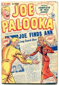 JOE PALOOKA #33 1949-HARVEY COMICS-BOXING-ROMANCE VG