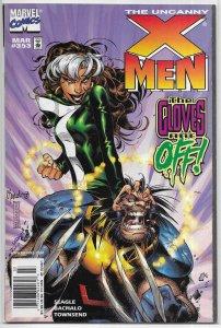 Uncanny X-Men   vol. 1   #353 FR Seagle/Bachalo, Rogue, Wolverine