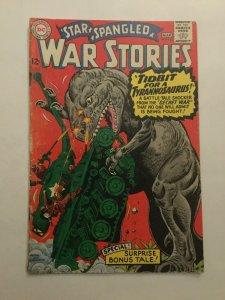 Star Spangled War Stories 125 Gd/vg Good/very Good 3.0 Water Damage Dc