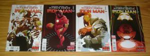 Ultimate Comics Iron Man #1-4 VF/NM complete series - marvel comics set lot 2 3
