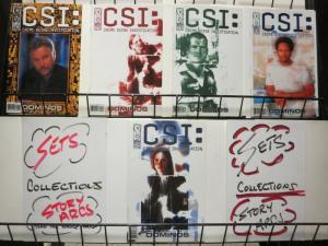 CSI: CRIME SCENE INVESTIGATION DOMINOS (2004 IDW) 1-5