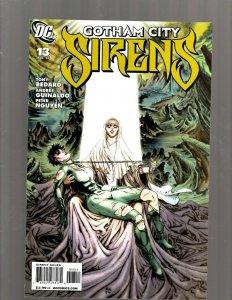 Gotham City Sirens # 13 NM 1st Print DC Comic Book Harley Quinn Poison Ivy SM19