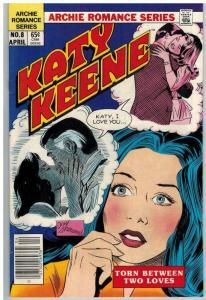 KATY KEENE 8 VF April 1985 COMICS BOOK