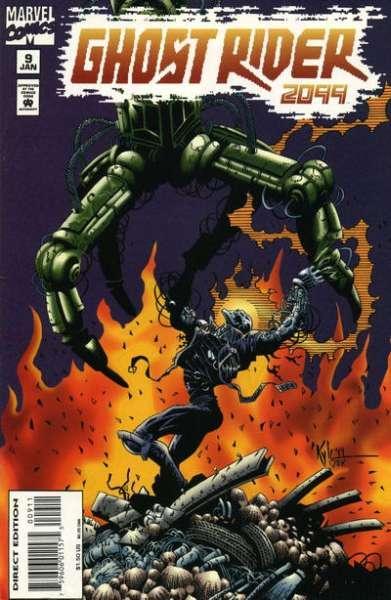 Ghost Rider #29 VF 1992 Stock Image