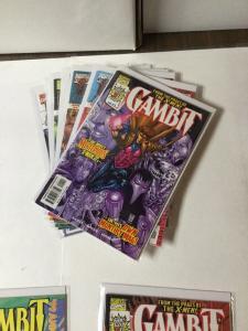 Gambit 1 2 3 4 5 6 7 8 1 Varain And Annual 1 Nm Near Mint
