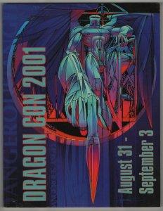 Dragon Con 2001 Program VF+