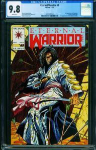 Eternal Warrior #4 CGC 9.8 1st appearance of BLOODSHOT 2001509010