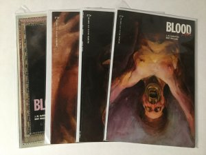 Blood A Tale 1-4 1 2 3 4 Lot Nm Near Mint Epic Comics