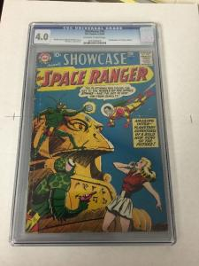 Showcase 16 Cgc 4.0 Ow/w Pages 2nd Space Ranger