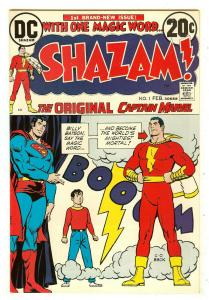 Shazam 1   1st revival of Captain Marvel since Golden age