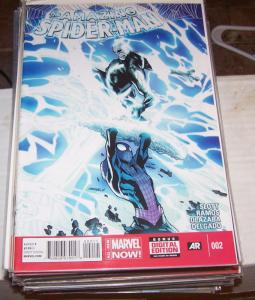 Amazing Spider-Man #  2 ( 2014, Marvel)  ! ELECTRO + BLACK CAT+ PETER PARKER +