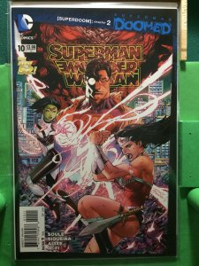 Superman Wonder Woman #10 The New 52