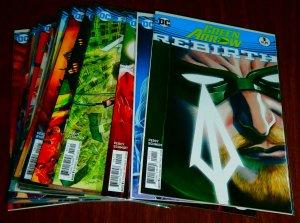 Green Arrow   vol. 6   #1-20, Rebirth #1 (set of 21)