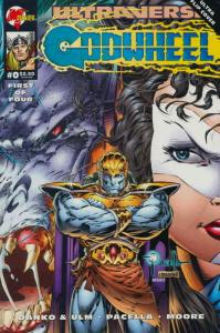 Godwheel #0 VF/NM; Malibu | save on shipping - details inside