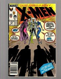 Uncanny X-Men # 244 VG/FN Marvel Comic Book 1st Jubilee Appearance Key JK7