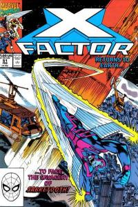 X-Factor (1986 series) #51, VF+ (Stock photo)