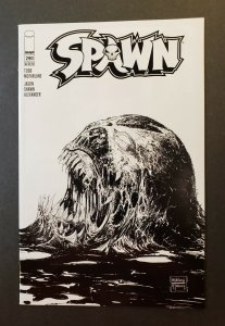 SPAWN #290 BLACK & WHITE SKETCH COVER IMAGE COMICS 2018 NM+