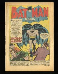 Detective Comics (1937) #224 Coverless Complete!