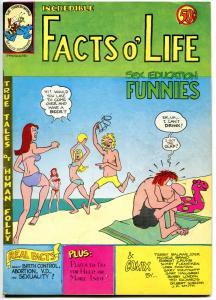 FACTS O' LIFE FUNNIES #1, Robert Crumb, Gilbert Shelton, VF, Underground, 1972