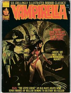 Vampirella Magazine #38 (Warren, 1974) FN